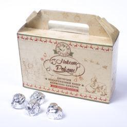 Новорічний набір корисних цукерок, новогодний набор полезных конфет